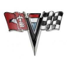 Corvette Hood Emblem 63-64