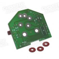 1975-82 Tachometer Printed Circuit Board